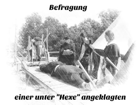 Inquisition Folter Henker Scharfrichter Befragung Streckbank Folterbank