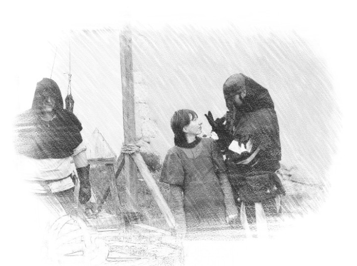 Henker Hexe Büttel Inquisition Peinlichebefragung Folter Scharfrichter