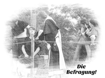 Hexe Garotte Hexenverfolgung Inquisition Henker Scharfrichter