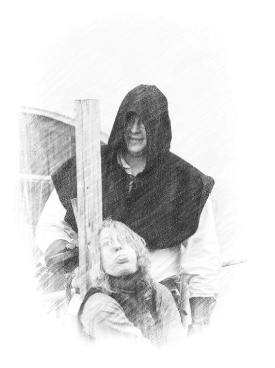 Büttel Folter Hexe Inquisition Garotte Gerichtsbarkeit